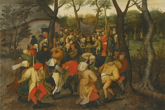 Artwork By Pieter Brueghel The Younger Outdoor Wedding Dance Made Of Oil On