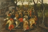 Pieter Brueghel the Younger, THE OUTDOOR WEDDING DANCE