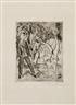 Erich Heckel, Handstand (Dube 151)