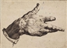 Hendrick Goltzius, The artist's right hand