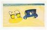 Wayne Thiebaud, Beach Glasses