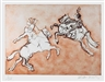 Malcolm Morley, Two Horseman