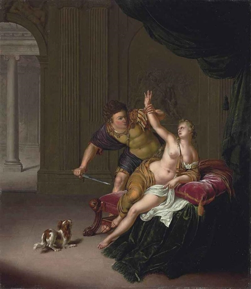 The Rape Of Lucrece Painting