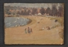 James R. Jackson, Sydney Beach Scene, & Cottage on Hillside