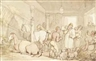 Thomas Rowlandson, Drinking in a stable