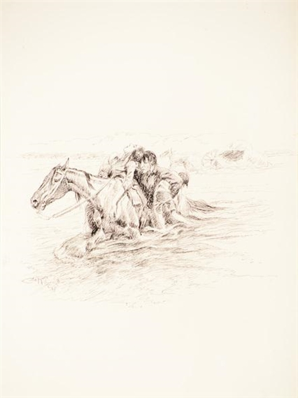 Charles Marion Russell, The Rescue