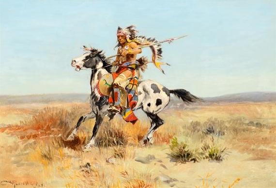 Charles Marion Russell, Dakota Chief