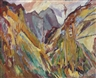 David Bomberg, The Slopes of Navao, Picos de Europa