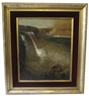 Frederic Edwin Church, FRAMED CHROMOLITHOGRAPH OF NIAGARA FALLS