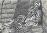 David Bomberg, Beggar at a Street Corner