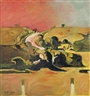 Graham Sutherland, Study: Welsh Landscape with Road