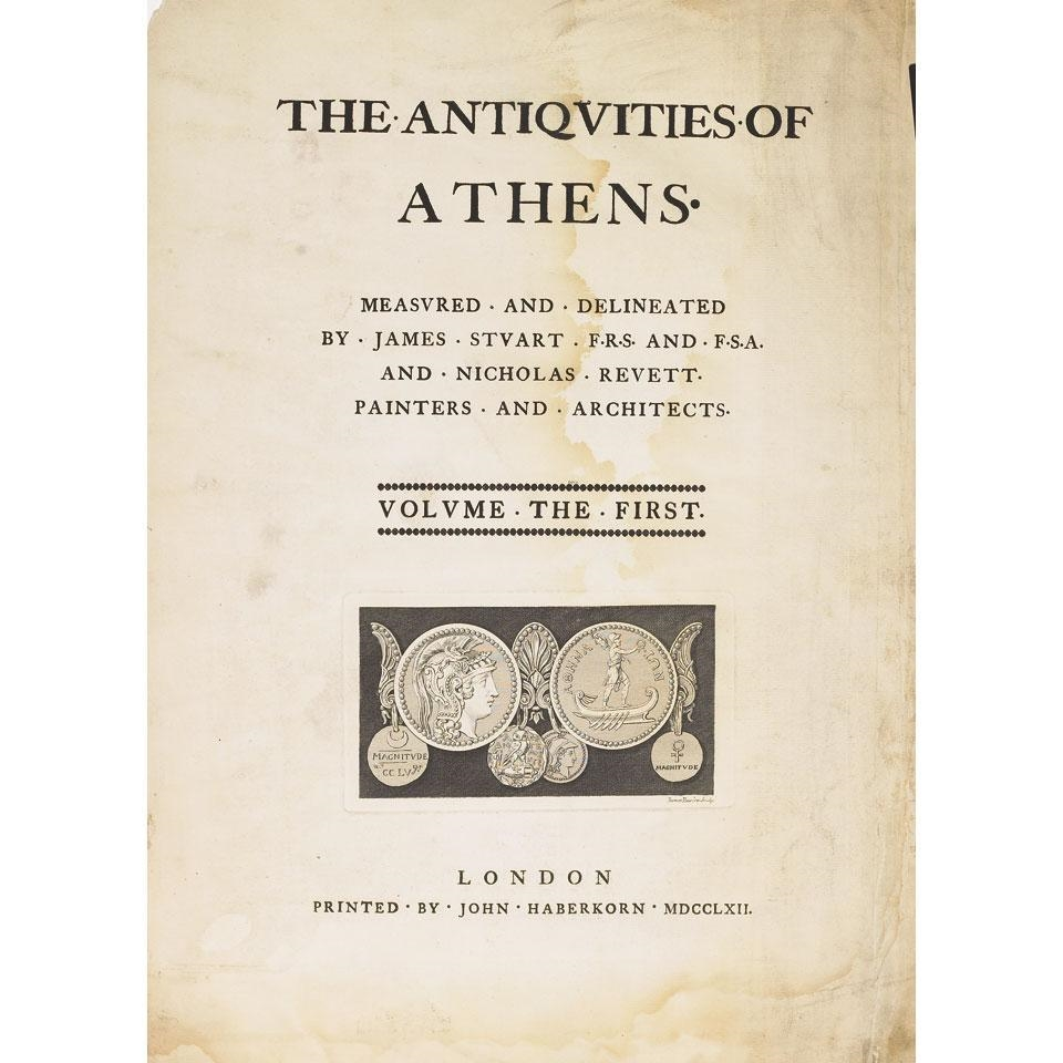 James Athenian Stuart The Antiquities