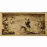 Bernard P. Naudin, 7 Works: Figural Scenes