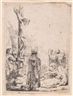 Rembrandt, The Crucifixion: Small Plate