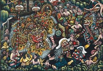 Pementasan Calonarang By Ida Bagus Made Widja ,1990