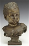 Jean-Baptiste Carpeaux, Bust of a Pouting Child