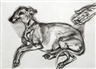 LUCIAN FREUD'S AGED WHIPPET RACES TO THE TOP OF BONHAMS PRINTS SALE