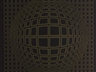 Victor Vasarely, Signed Metallic Print