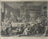William Hogarth, FOUR WORKS: AN ELECTION ENTERTAINMENT; CANVASSING FOR VOTES; THE POLLING; CHAIRING THE MEMBERS