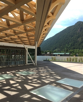 The Aspen Art Museum Designed By Shigeru Ban, 2014.