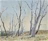 James R. Jackson, TREES IN A RURAL LANDSCAPE
