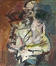 Frank Auerbach, DAVID LANDAU SEATED
