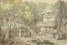 Thomas Rowlandson, Robbing an orchard