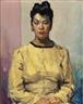 David Wu Ject-Key, Portrait of a Woman in Yellow