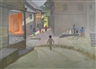 Andrew Macara, Children Playing in a Street, Khatmandu, Nepal