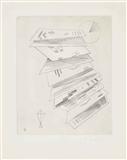 Zweite Radierung für die Editions Cahiers d'Art