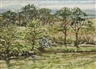 Derek Southall, LANDSCAPE WITH TREES