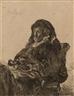 Rembrandt, Rembrandt's mother with dark gloves