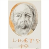Leonard Baskin, Self Portrait at 49