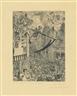 James Ensor, La Mort poursuivant le troupeau des humains