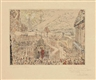 James Ensor, Prise d'une ville étrange (Capture of a strange Town)