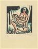 Max Pechstein, Mutter und Kind