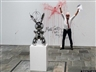 Man Vandalizes Jeff Koons Retrospective With Own Blood, Because He's An Artist Too