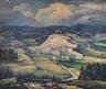 Arthur Gibbes Burton, Landscape with Butte