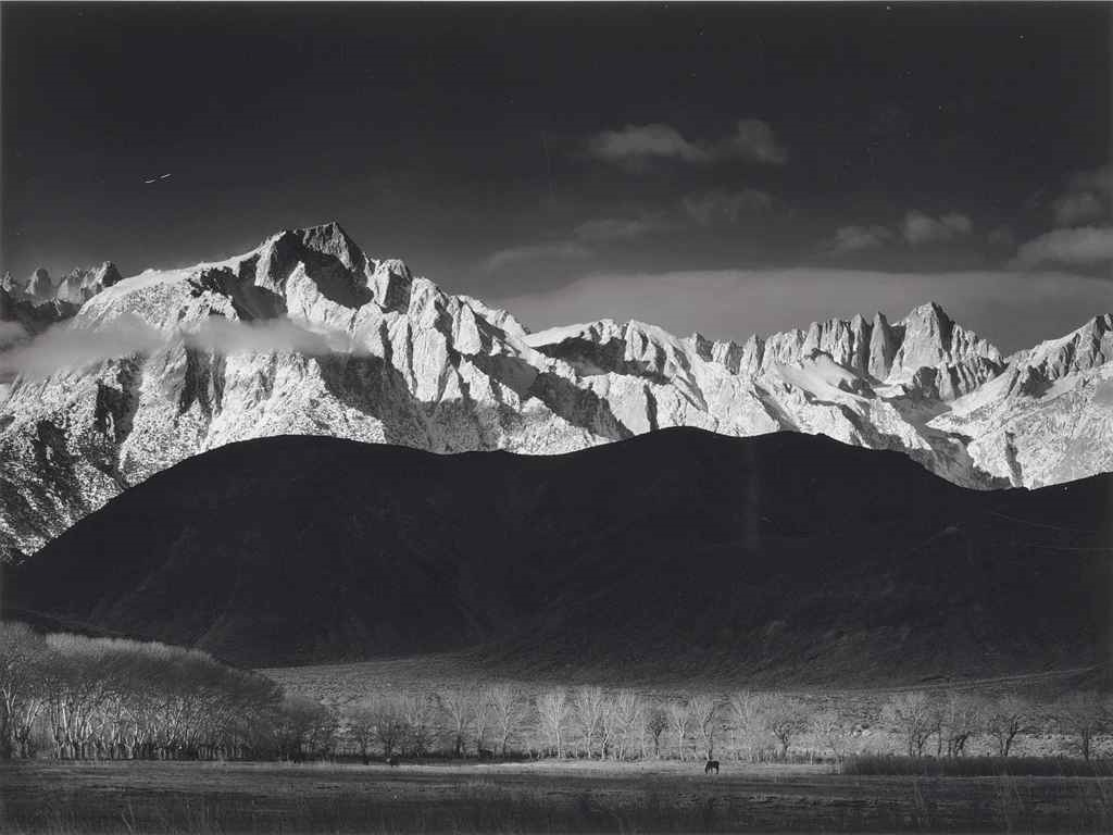 ansel adams sierra nevada - photo #2