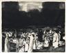 George Bellows, In the Park, Dark