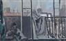 Max Gubler, Atelierfenster mit sitzender Figur, 1931