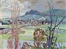 Max Gubler, Herbstlandschaft, Schlieren, Unterengstringen