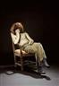 Kurt Henning Trampedach Sørensen, Sleeping Man in a chair, from the tableau