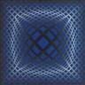 Victor Vasarely, Vega-Bleu