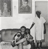 Roger Ballen, PORTRAIT OF JOAN WITH HER PUGS AND LILLIAN