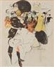 Jacques Villon, Danseuse au Moulin Ruge