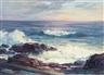John Whorf, Coastal Scene