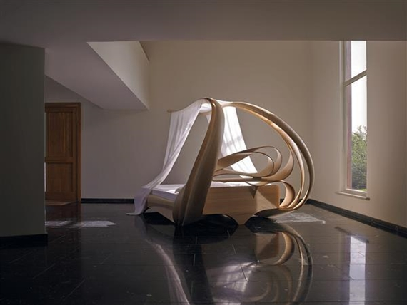 Artwork by Joseph Walsh Enignum Canopy Bed VII & Joseph Walsh - Enignum Canopy Bed VII