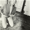 Francesca Woodman, UNTITLED, PROVIDENCE, RHODE ISLAND (SELF-PORTRAIT, KNEELING)
