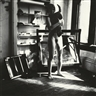 Francesca Woodman, UNTITLED, PROVIDENCE, RHODE ISLAND, RELATING TO THE SERIES, A WOMAN. A MIRROR. A WOMAN IS A MIRROR FOR A MAN